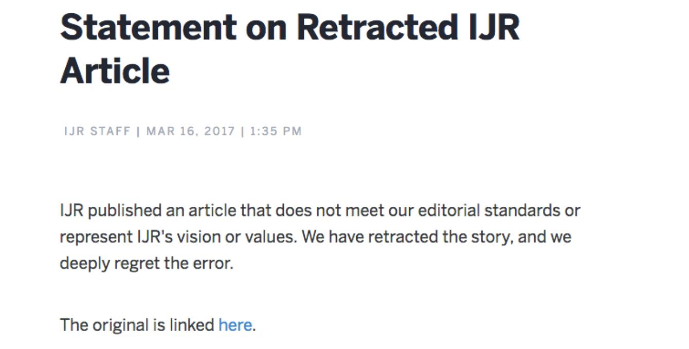 Correctie IJR